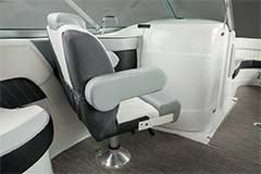 Companion Seat of a Cruisers Yachts 238 Bow Rider