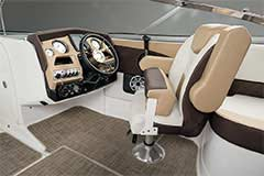 Captains Chair of a Cruisers Yachts 258 Bow Rider