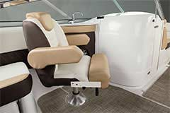 Companion Seat of a Cruisers Yachts 258 Bow Rider