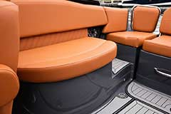 Aft Seat of a Cruisers Yachts 278 South Beach Edition - Bow Rider