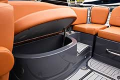 Aft Storage of a Cruisers Yachts 278 South Beach Edition - Bow Rider
