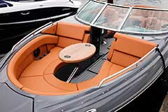 Bow Seating of a Cruisers Yachts 278 South Beach Edition - Bow Rider