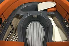 Bow Storage of a Cruisers Yachts 278 South Beach Edition - Bow Rider