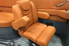Companion Seat of a Cruisers Yachts 278 South Beach Edition - Bow Rider