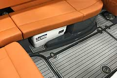 Cooler Storage of a Cruisers Yachts 278 South Beach Edition - Bow Rider