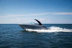 Exterior of a Cruisers Yachts 278 South Beach Edition - Bow Rider