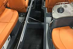 Floor Storage of a Cruisers Yachts 278 South Beach Edition - Bow Rider