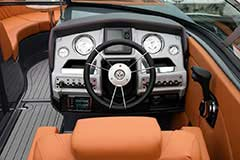 Helm of a Cruisers Yachts 278 South Beach Edition - Bow Rider