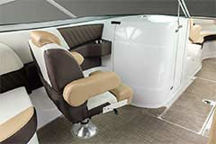 Companion Seat of a Cruisers Yachts 298 Bow Rider