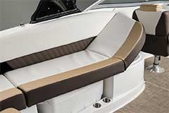 Reclining Seats of a Cruisers Yachts 298 Bow Rider