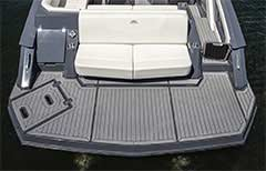 Swim Platform of a Cruisers Yachts 338 Bow Rider