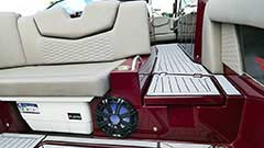 Storage of a Cruisers Yachts 338 Palm Beach Edition - Bow Rider