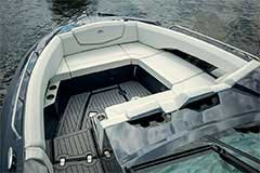 Bow Seat of a Cruisers Yachts 338 South Beach Edition - Bow Rider