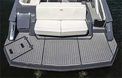 Swim Platform of a Cruisers Yachts 338 South Beach Edition - Bow Rider