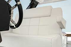 Captains Chair of a Cruisers Yachts 39 Express Coupe