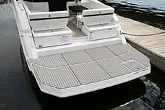 Extended Swim Platform of a Cruisers Yachts 39 Express Coupe