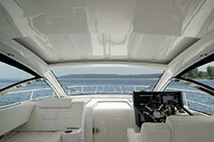 Hardtop Closed of a Cruisers Yachts 39 Express Coupe