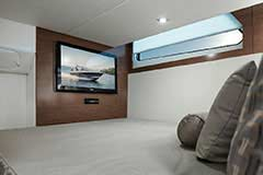 Master Entertainment of a Cruisers Yachts 39 Express Coupe