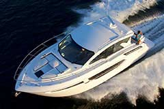 Exterior of a Cruiser Yachts 42 Cantius