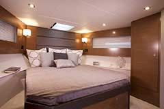 Forward Stateroom of a Cruiser Yachts 42 Cantius