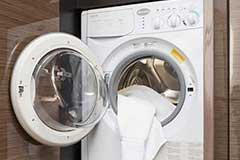 Washer & Dryer of a Cruiser Yachts 45 Cantius
