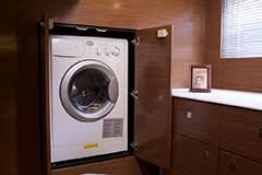Washer & Dryer of a Cruiser Yachts 46 Cantius