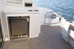 Cockpit Refrigerator for a Cruiser Yachts 50 Cantius