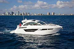 Exterior for a Cruiser Yachts 50 Cantius