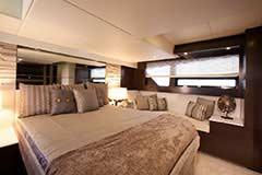 Master Stateroom for a Cruiser Yachts 50 Cantius