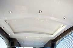 Sunroof Closed for a Cruiser Yachts 50 Cantius