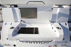 Transom Grill for a Cruiser Yachts 50 Cantius