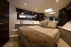 VIP Stateroom for a Cruiser Yachts 50 Cantius