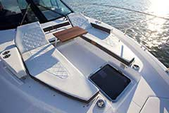 Bow Lounge for a Cruiser Yachts 50 Cantius