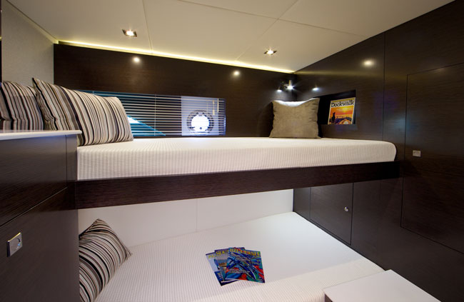 Third Stateroom for a Cruiser Yachts 50 Cantius