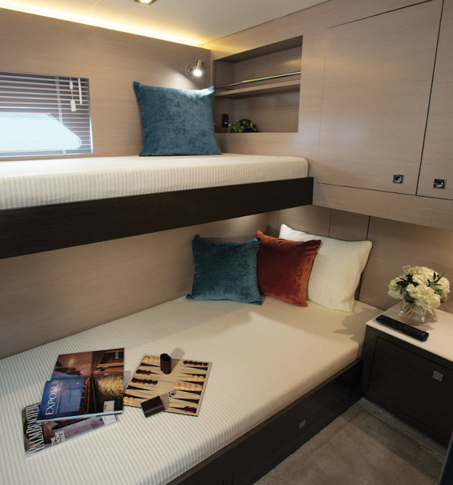 Third Stateroom of a Cruiser Yachts 54 Cantius