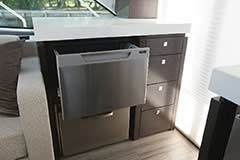 Dishwasher of a Cruiser Yachts 54 Cantius