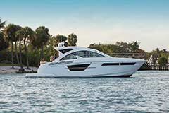 Exterior of a Cruiser Yachts 54 Cantius