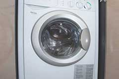 Washer & Dryer of a Cruiser Yachts 54 Cantius
