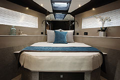 VIP Stateroom of a Cruiser Yachts 54 Fly