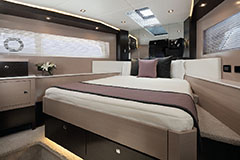 VIP Stateroom of a Cruiser Yachts 60 Cantius