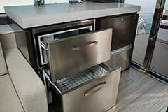 Ice Maker of a Cruiser Yachts 60 Fly